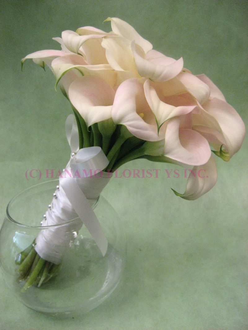 WEDB065 Calla Wedding Bouquet